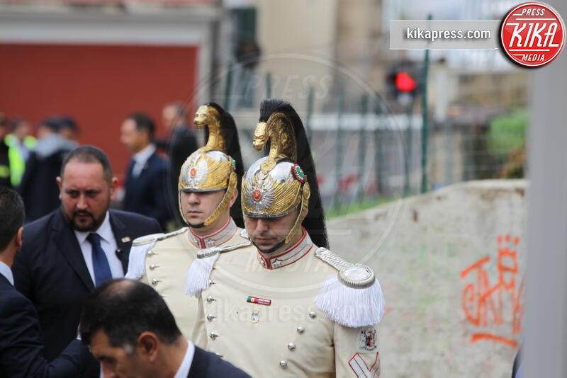 Corazzieri, Carabinieri - Napoli - 05-10-2019 - Sergio Mattarella festeggia l'anniversario della Napoli-Portici