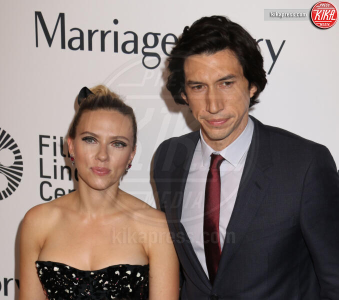 Adam Driver, Noah Baumbach, Scarlett Johansson - New York - 04-10-2019 - Golden Globes 2020: alle nomination trionfo The Crown e Scorsese