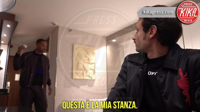 Fabio Rovazzi, Will Smith - 07-10-2019 - Rovazzi e Will Smith, compagni di stanza per caso