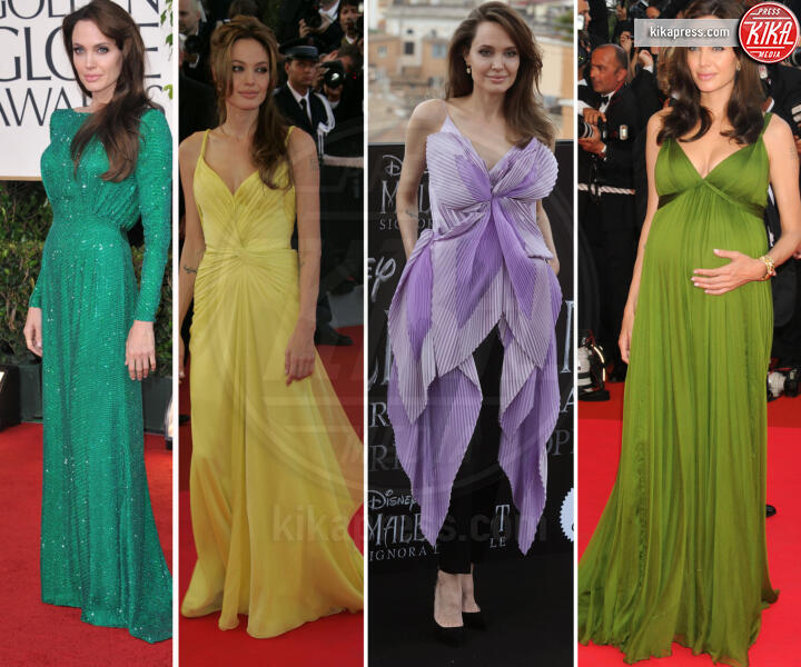 Angelina Jolie - 07-10-2019 - Angelina Jolie e le (rarissime) volte che ha scelto il colore