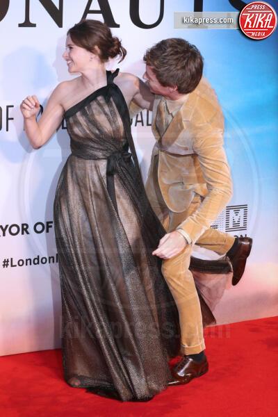 Eddie Redmayne, Felicity Jones - Londra - 07-10-2019 - The Aeronauts, Felicity Jones ed Eddie Redmayne ancora insieme