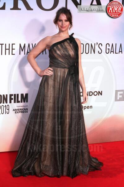 Felicity Jones - Londra - 07-10-2019 - The Aeronauts, Felicity Jones ed Eddie Redmayne ancora insieme