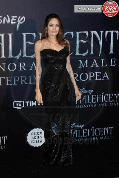 Angelina Jolie - Roma - 08-10-2019 - Maleficent: Mistress of Evil, tre sfumature di Jolie