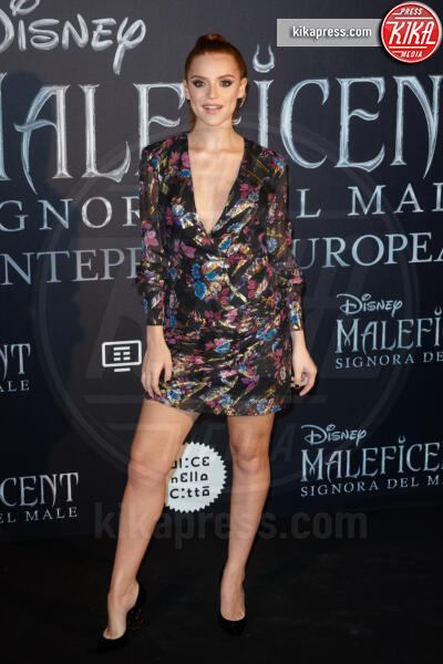 Ludovica Bizzaglia - Roma - 08-10-2019 - Maleficent: Mistress of Evil, tre sfumature di Jolie