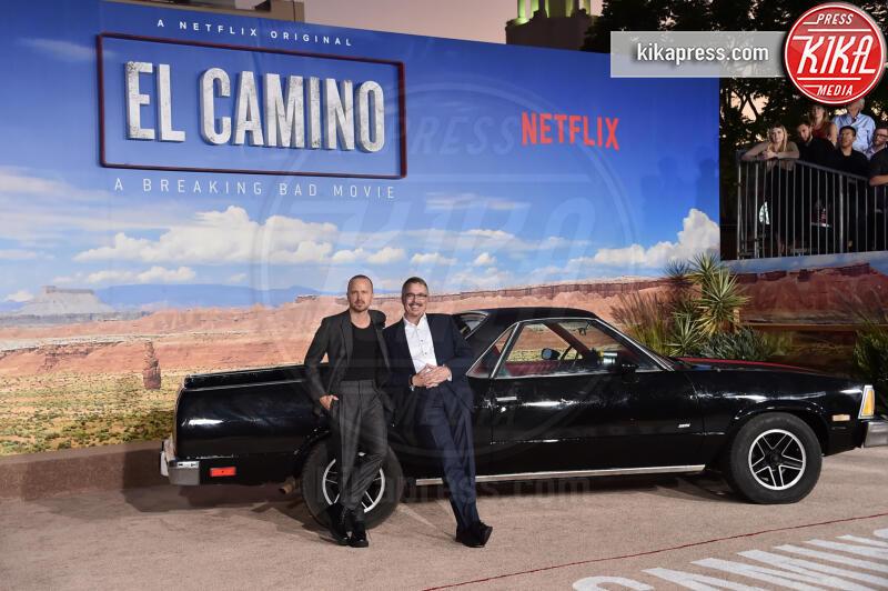 Vince Gilligan, Aaron Paul - Westwood - 07-10-2019 - El Camino, alla premiere si ricompone il mondo Breaking Bad