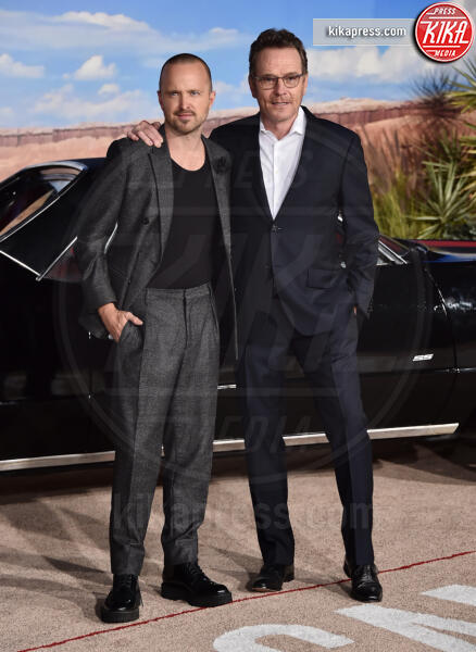 Aaron Paul, Bryan Cranston - Westwood - 07-10-2019 - El Camino, alla premiere si ricompone il mondo Breaking Bad