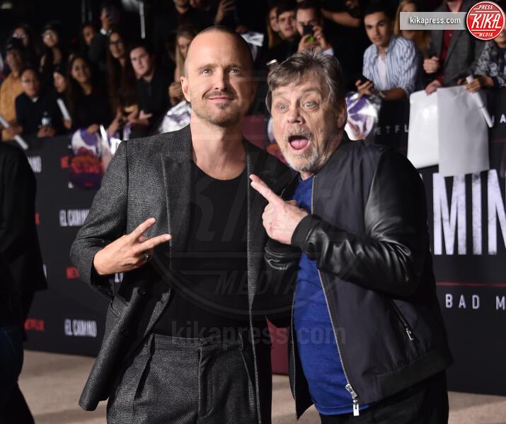 Aaron Paul, Mark Hamill - Westwood - 07-10-2019 - El Camino, alla premiere si ricompone il mondo Breaking Bad