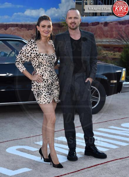 Lauren Parsekian, Aaron Paul - Westwood - 07-10-2019 - El Camino, alla premiere si ricompone il mondo Breaking Bad