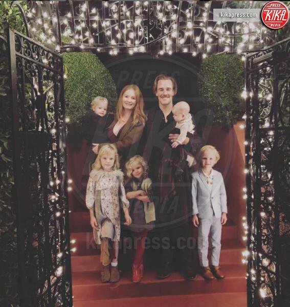 Figli Van der Beek, Kimberly Van Der Beek, James Van Der Beek - 08-10-2019 - Genitori da record: James Van del Beek al sesto figlio!