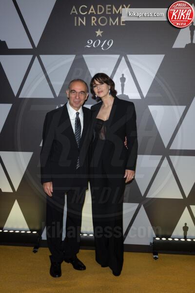 Giuseppe Tornatore, Monica Bellucci - Roma - 09-10-2019 - Oscar: l'Academy celebra Servillo, Giannini, Garrone e Verdone