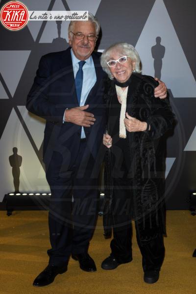 Giancarlo Giannini, Lina Wertmuller - Roma - 09-10-2019 - Oscar: l'Academy celebra Servillo, Giannini, Garrone e Verdone