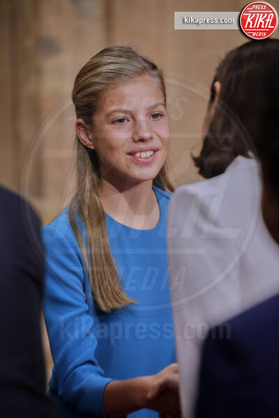 Principessa Sofia di Borbone - Oviedo - 18-10-2019 - Principesse adolescenti sui troni d'Europa: le riconoscete?