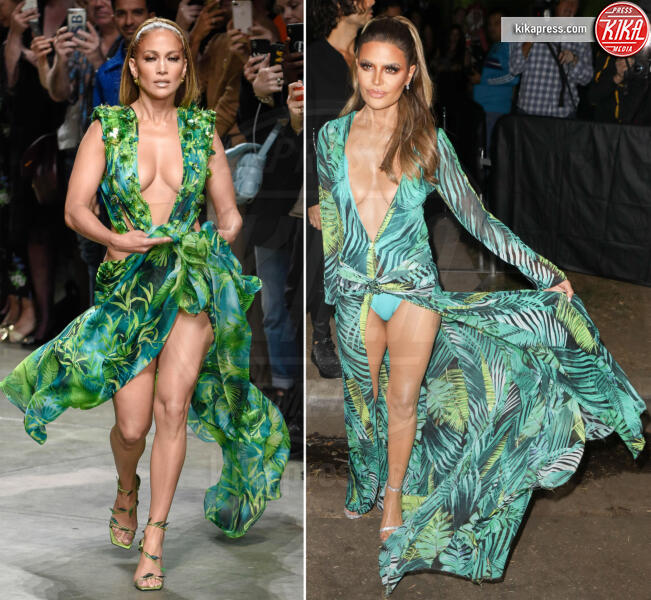 Lisa Rinna, Jennifer Lopez - 28-10-2019 - Halloween 2019: basta un Jungle Dress per trasformarsi in J Lo!