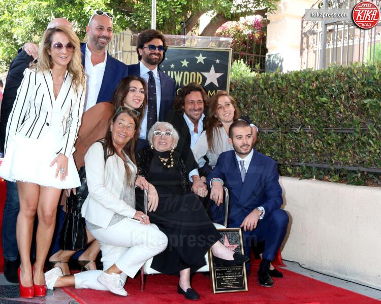 family, Lina Wertmuller - Los Angeles - 28-10-2019 - Lina Wertmüller, la sua stella ora brilla sulla Walk of Fame