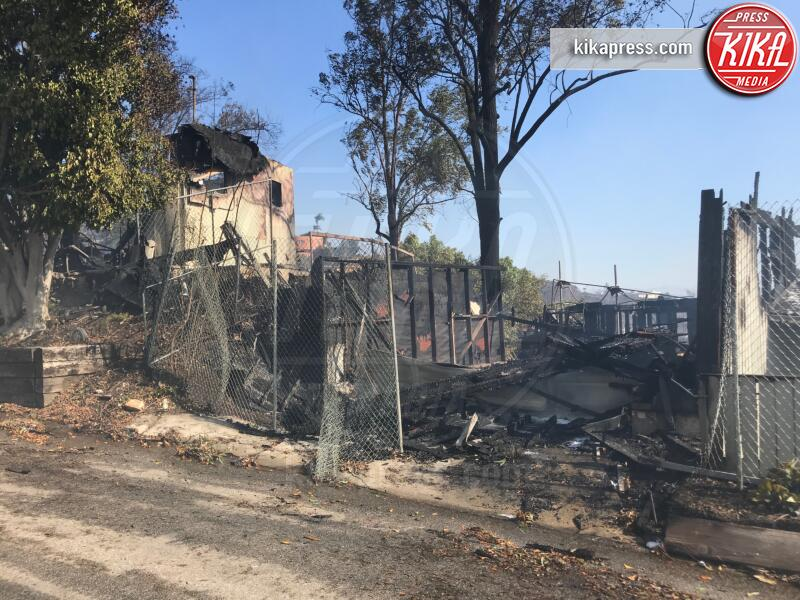 Incendi in California - Los Angeles - 28-10-2019 - Brucia la California, in fiamme le case delle star