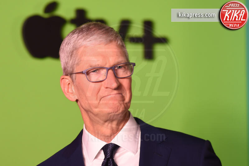 Tim Cook - New York - 28-10-2019 - Jennifer Aniston e Reese Witherspoon: comincia l'avventura
