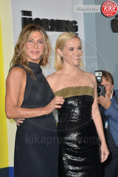 Reese Witherspoon, Jennifer Aniston - New York - 28-10-2019 - Jennifer Aniston e Reese Witherspoon: comincia l'avventura