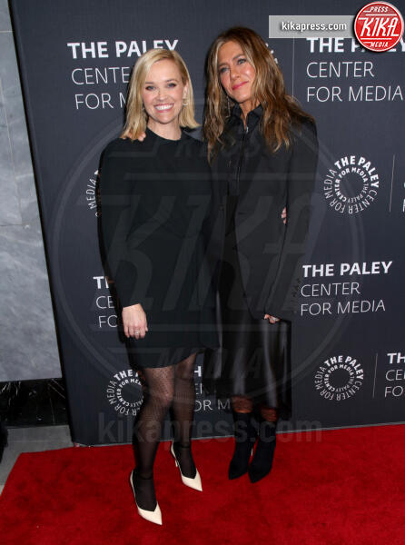 Reese Witherspoon, Jennifer Aniston - New York - 29-10-2019 - The Morning Show, Aniston e Witherspoon sul red carpet