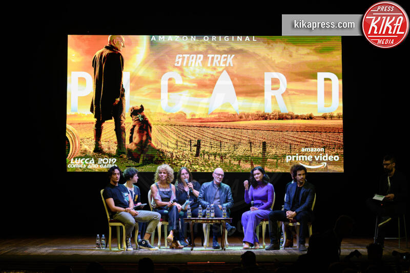 Patrick Stewart - Lucca - 01-11-2019 - Lucca Comics & Games, Patrick Stewart presenta Picard