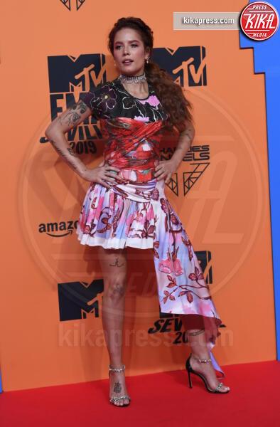 Halsey - Seville - 03-11-2019 - MTV EMA, CR7 e Georgina Rodriguez star sul red carpet