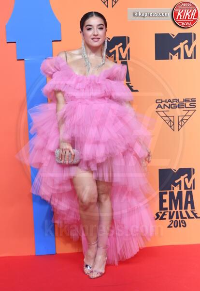 Lola Indigo - Seville - 03-11-2019 - MTV EMA, CR7 e Georgina Rodriguez star sul red carpet