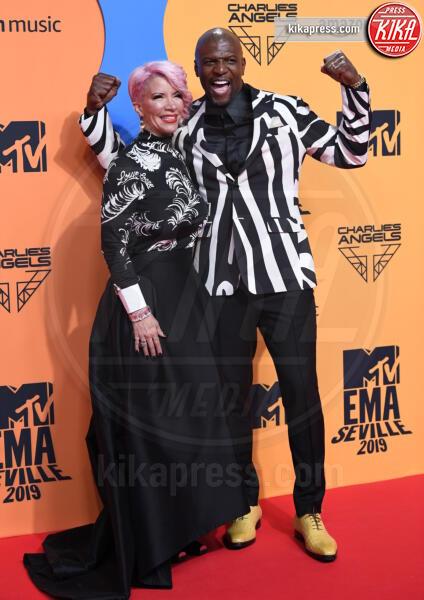 Rebecca King-Crews, Terry Crews - Seville - 03-11-2019 - MTV EMA, CR7 e Georgina Rodriguez star sul red carpet