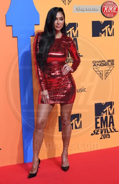 Nicole Scherzinger - Seville - 03-11-2019 - MTV EMA, CR7 e Georgina Rodriguez star sul red carpet