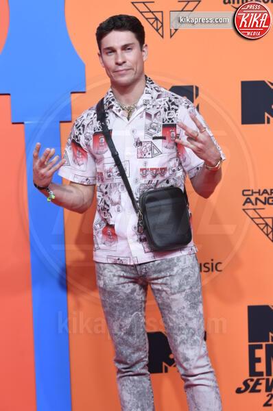 Joey Essex - Seville - 03-11-2019 - MTV EMA, CR7 e Georgina Rodriguez star sul red carpet