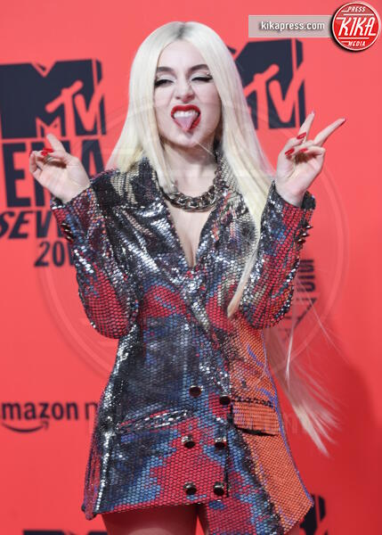 Ava Max - Seville - 03-11-2019 - MTV EMA, CR7 e Georgina Rodriguez star sul red carpet