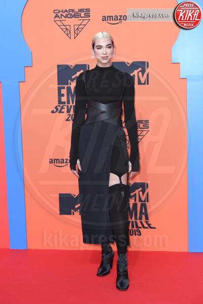 Dua Lipa - Seville - 03-11-2019 - MTV EMA, CR7 e Georgina Rodriguez star sul red carpet