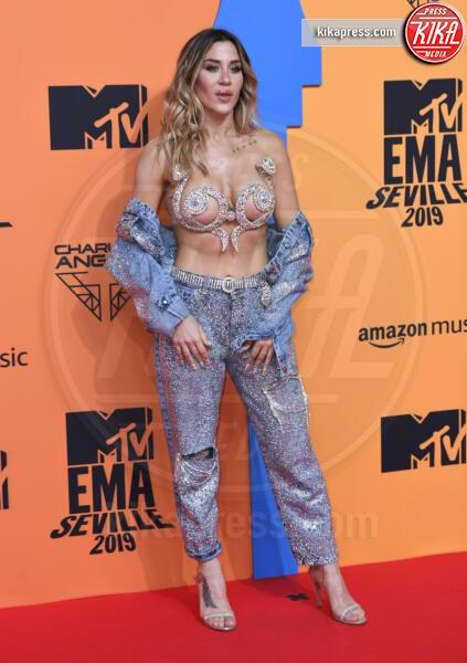 J Menna - Seville - 03-11-2019 - MTV EMA, CR7 e Georgina Rodriguez star sul red carpet