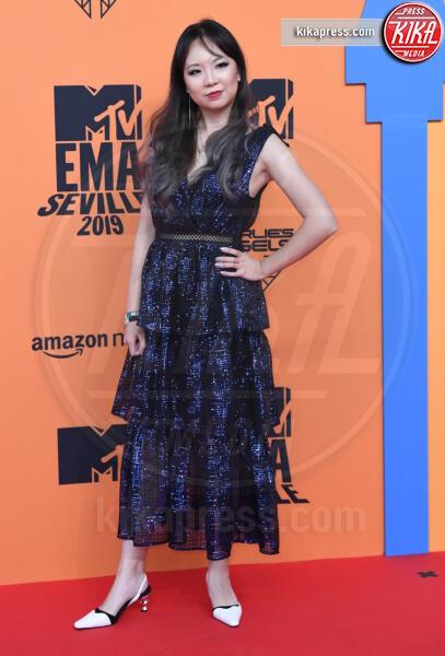 Lisa Ranran Hu - Seville - 03-11-2019 - MTV EMA, CR7 e Georgina Rodriguez star sul red carpet