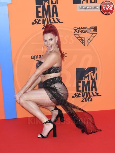 Justina Valentine - Seville - 03-11-2019 - MTV EMA, CR7 e Georgina Rodriguez star sul red carpet