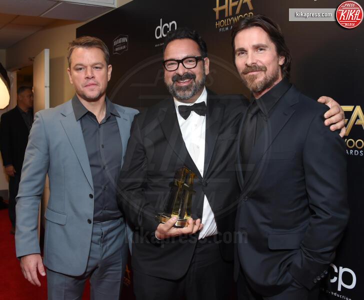 James Mangold, Christian Bale, Matt Damon - Beverly Hills - 03-11-2019 - Antonio Banderas, agli Hollywood Film Awards con la sua Stella