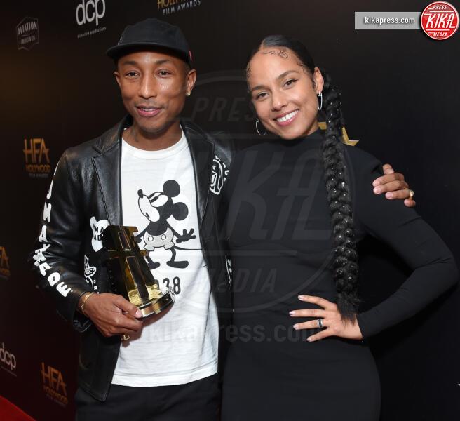 Pharrell Williams, Alicia Keys - Beverly Hills - 03-11-2019 - Antonio Banderas, agli Hollywood Film Awards con la sua Stella