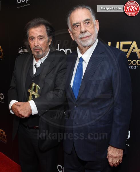 Francis Ford Coppola, Al Pacino - Beverly Hills - 03-11-2019 - Antonio Banderas, agli Hollywood Film Awards con la sua Stella
