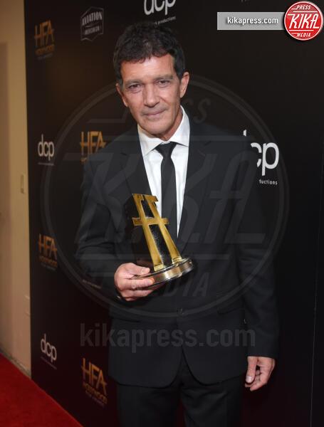 Antonio Banderas - Beverly Hills - 03-11-2019 - Antonio Banderas, agli Hollywood Film Awards con la sua Stella