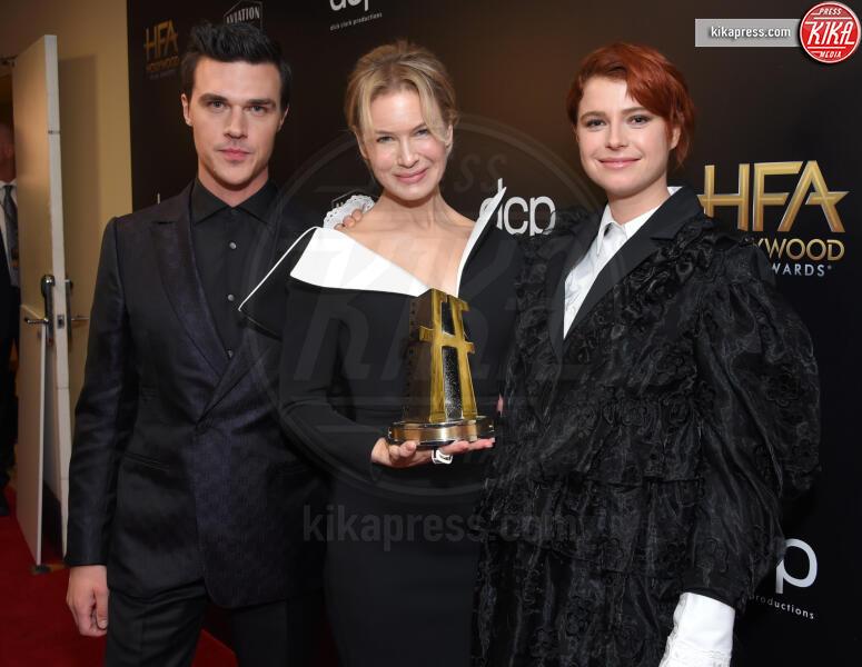 Jessie Buckley, Finn Wittrock, Renee Zellweger - Beverly Hills - 03-11-2019 - Antonio Banderas, agli Hollywood Film Awards con la sua Stella