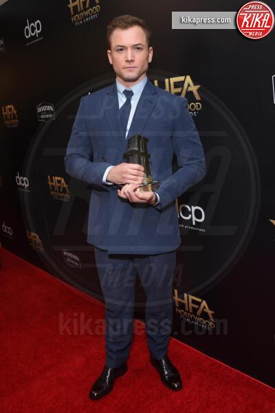 Taron Egerton - Beverly Hills - 03-11-2019 - Antonio Banderas, agli Hollywood Film Awards con la sua Stella