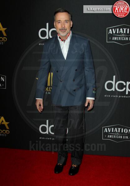 David Furnish - Los Angeles - 03-11-2019 - Antonio Banderas, agli Hollywood Film Awards con la sua Stella