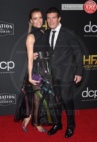 Nicole Kimpel, Antonio Banderas - Beverly Hills - 03-11-2019 - Antonio Banderas, agli Hollywood Film Awards con la sua Stella