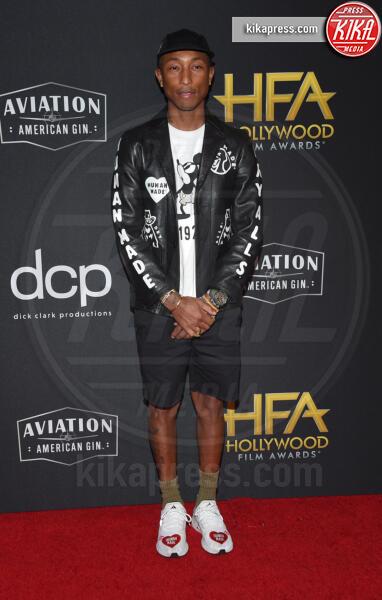Pharrell Williams - Beverly Hills - 03-11-2019 - Antonio Banderas, agli Hollywood Film Awards con la sua Stella