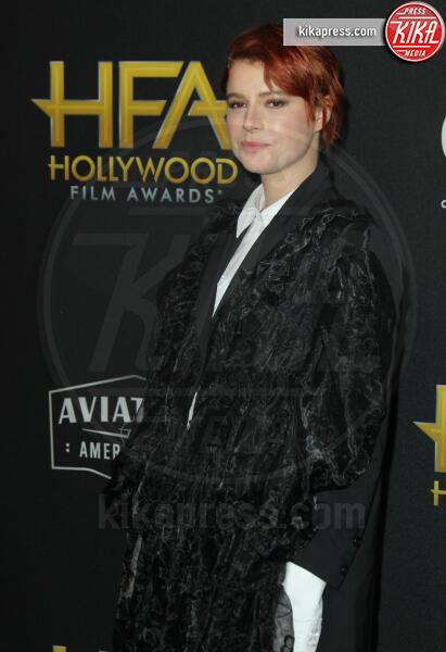 Jessie Buckley - Los Angeles - 03-11-2019 - Antonio Banderas, agli Hollywood Film Awards con la sua Stella