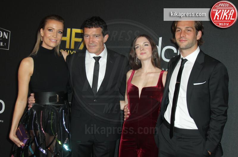 Nicole Kimpel, Stella Banderas, Antonio Banderas - Los Angeles - 03-11-2019 - Antonio Banderas, agli Hollywood Film Awards con la sua Stella