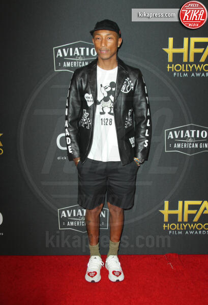 Pharrell Williams - Los Angeles - 03-11-2019 - Antonio Banderas, agli Hollywood Film Awards con la sua Stella