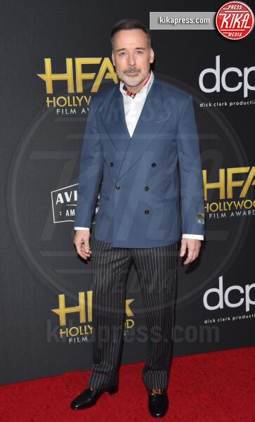 David Furnish - Beverly Hills - 03-11-2019 - Antonio Banderas, agli Hollywood Film Awards con la sua Stella