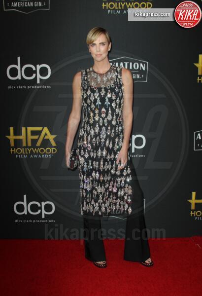 Charlize Theron - Los Angeles - 03-11-2019 - Antonio Banderas, agli Hollywood Film Awards con la sua Stella