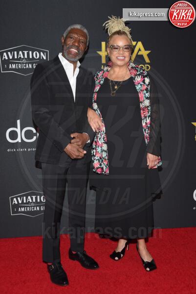 Vondie Curtis-Hall, Kasi Lemmons - Beverly Hills - 03-11-2019 - Antonio Banderas, agli Hollywood Film Awards con la sua Stella