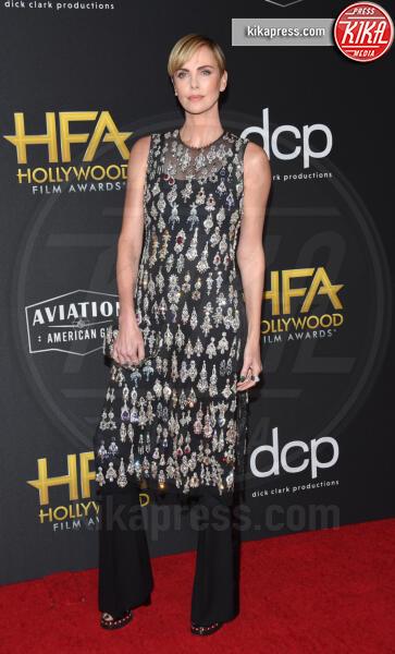 Charlize Theron - Beverly Hills - 03-11-2019 - Antonio Banderas, agli Hollywood Film Awards con la sua Stella