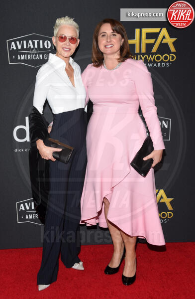 Victoria Alonso - Beverly Hills - 03-11-2019 - Antonio Banderas, agli Hollywood Film Awards con la sua Stella